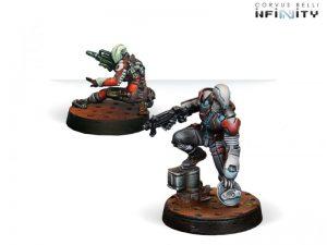 Corvus Belli Infinity  Nomads Spektrs (Boarding shotgun, hacker) - 280592-0700 - 2805920007003