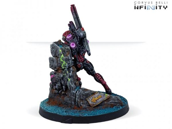 Corvus Belli Infinity  Combined Army Combined Army Shasvastii Haiduks (Multi Sniper) - 281602-0823 - 2816020008234