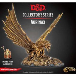 Gale Force Nine Dungeons & Dragons  D&D Miniatures D&D: Aurinax the Dragon - GFN71074 - 9420020242647