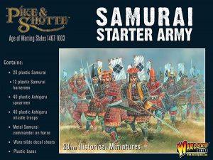 Warlord Games Pike & Shotte  SALE! Samurai Starter Army - 202014001 - 5060393706915