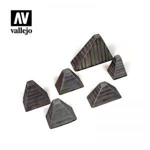 Vallejo   Vallejo Scenics Vallejo Scenics - 1:35 Hockerhindernis - VALSC219 - 8429551984898