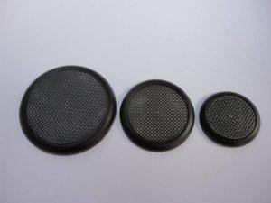 Baker Bases   Checkerplate Checkerplate: Wround 40mm Bases (5) - CB-CQ-03-40M - CB-CQ-03-40M