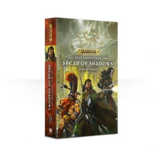 Games Workshop   Age of Sigmar Books Eight Lamentations: Spear of Shadows (paperback) - 60100281197 - 9781784966676