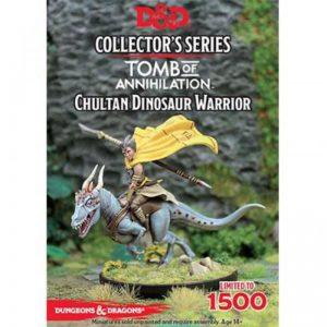 Gale Force Nine Dungeons & Dragons  D&D Miniatures D&D: Chulten Dinosaur Rider - GFN71061 - 9420020237353