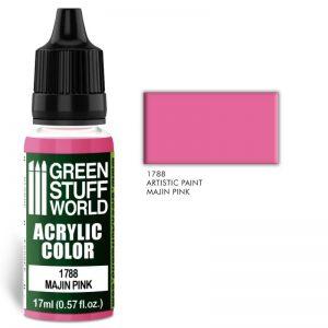 Green Stuff World   Acrylic Paints Acrylic Color MAJIN PINK - 8436574501476ES - 8436574501476