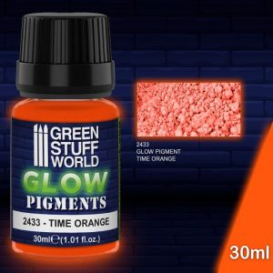 Green Stuff World   Glow in the Dark Pigments Glow in the Dark Pigment - TIME ORANGE - 8436574507928ES - 8436574507928