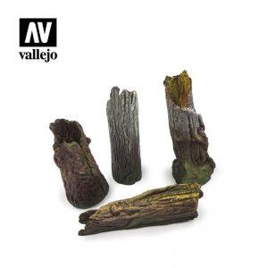 Vallejo   Vallejo Scenics Vallejo Scenics - Scenery: Large Tree Stumps - VALSC303 - 8429551987134