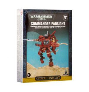 Games Workshop (Direct) Warhammer 40,000  40k Direct Orders T'au Empire Commander Farsight - 99810113020 - 5011921045587