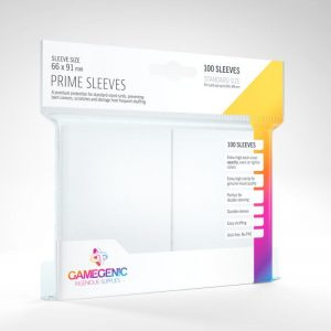Gamegenic   SALE! Gamegenic Prime Sleeves White (100 pack) - GGS11017ML - 4251715402177