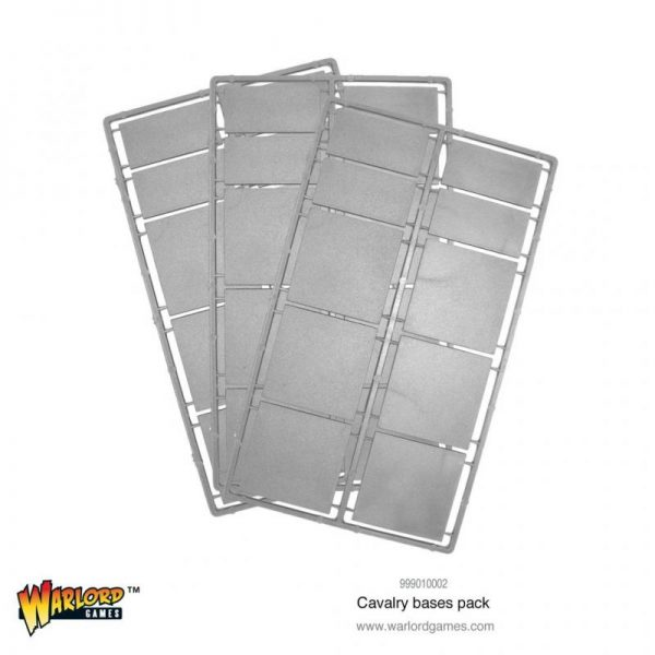 Warlord Games   Plain Bases Cavalry bases pack - 999010002 - 5060572504394