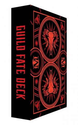 Wyrd Malifaux  Guild Guild Fate Deck - WYR23020 - 812152032859