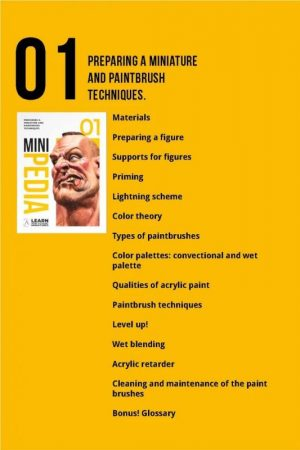 Scale75   Painting Guides Minipedia 01 - Preparing a Miniature & Paintbrush Techniques - MiniPed01 -