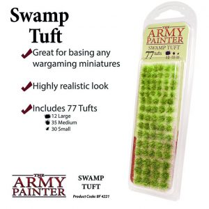 The Army Painter   Tufts Battlefields: Swamp Tuft - APBF4221 - 5713799422100