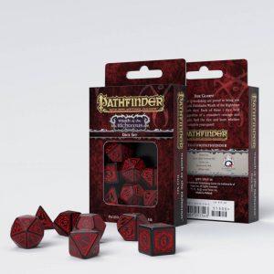 Q-Workshop   RPG / Polyhedral Pathfinder Wrath of the Righteous Dice Set (7) - SPAT06 - 9781601257543