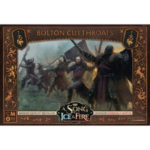 Cool Mini or Not A Song of Ice and Fire  House Bolton A Song of Ice and Fire: Bolton Cutthroats - CMNSIF501 - 889696007803