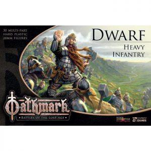 North Star Oathmark  Oathmark Oathmark Dwarf Heavy Infantry - OAKP102 - 9781472897442
