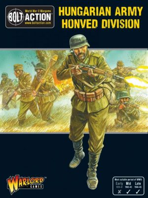 Warlord Games Bolt Action  Hungary (BA) Hungarian Army Honved Division Section - 402217401 - 5060572502451