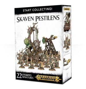 Games Workshop Age of Sigmar  Skaven Pestilens Start Collecting! Skaven Pestilens - 99120206025 - 5011921073405