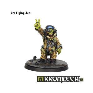 Kromlech   Orc Model Kits Orc Flying Ace - KRM029 - 5902216112698