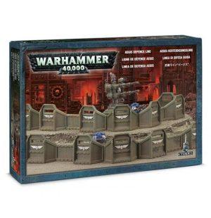 Games Workshop (Direct) Warhammer 40,000  40k Terrain Aegis Defence Line - 99120199015 - 5011921015993