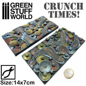 Green Stuff World   Modelling Extras Steampunk Plates - Crunch Times! - 8436574502558ES - 8436574502558