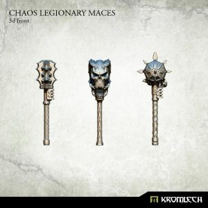 Kromlech   Heretic Legionary Conversion Parts Chaos Legionary Maces (3) - KRCB186 - 5902216115439