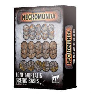 Games Workshop (Direct) Necromunda  Necromunda Necromunda: Zone Mortalis Scenic Bases - 99120599022 - 5011921136100