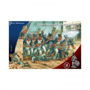 Perry Miniatures   Perry Miniatures French Napoleonic Infantry Battalion 1807-14 - FN250 - FN250