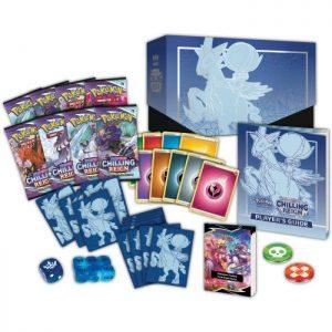Pokemon Pokemon - Trading Card Game  Pokemon Pokemon TCG: Chilling Reign Elite Trainer Box - POK80863 - 820650808630