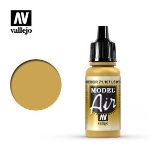 Vallejo   Model Air Model Air: US Interior Yellow - VAL107 - 8429551711074