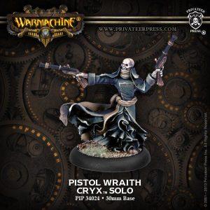 Privateer Press Warmachine & Hordes  Cryx Solos Pistol Wraith - PIP34024 - 875582001055