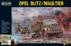 Warlord Games Bolt Action  Germany (BA) Opel Blitz/Maultier - 402012018 - 5060393707608