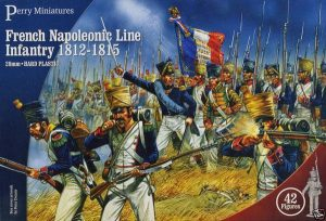 Perry Miniatures   Perry Miniatures French Napoleonic Line Infantry 1812-1815 - FN100 - FN100