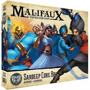 Wyrd Malifaux  Arcanists Sandeep Core Box - WYR23316 - 812152030817