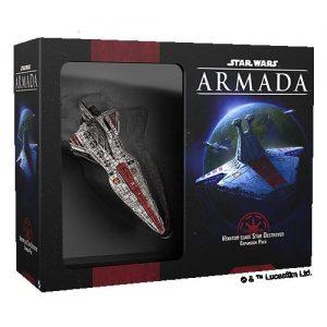 Fantasy Flight Games Star Wars: Armada  The Galactic Republic - Armada Star Wars Armada: Republic Venator-class Star Destroyer - FFGSWM41 - 841333112547
