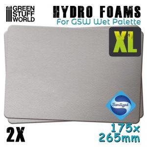 Green Stuff World   Paint Palettes Hydro Foams XL x2 - 8436574508246ES - 8436574508246