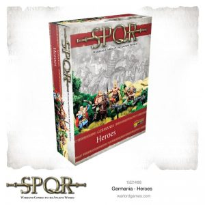 Warlord Games SPQR  SPQR SPQR: Germania Heroes - 152214008 - 5060572505278