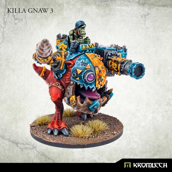 Kromlech   Orc Model Kits Killa Gnaws Squad (3) - KRM153 - 5908291070779