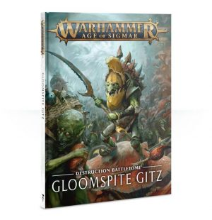 Games Workshop Age of Sigmar  Gloomspite Gitz Battletome: Gloomspite Gitz - 60030209010 - 9781788263887