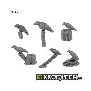 Kromlech   Basing Extras Birds (6) - KRBK008 - 5902216112308