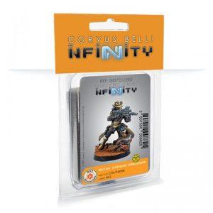 Corvus Belli Infinity  Non-Aligned Armies - NA2 Wild Bill, Legendary Gungslinger (Contender) - 280755-0882 - 2807550008825