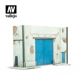 Vallejo   Vallejo Scenics Vallejo Scenics - Scenery: Factory Facade - VALSC107 - 8429551984669