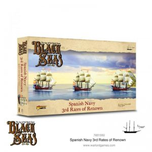 Warlord Games Black Seas  Black Seas Black Seas: Spanish Navy 3rd Rates of Renown - 792013002 - 5060572505827