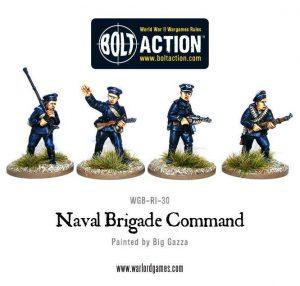 Warlord Games Bolt Action  Soviet Union (BA) Soviet Naval Brigade Command - WGB-RI-25 - 5060200841549