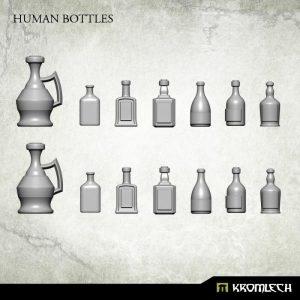Kromlech   Basing Extras Human Bottles (14) - KRBK016 - 5902216115309