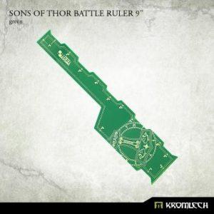 Kromlech   Tapes & Measuring Sticks Sons of Thor Battle Ruler 9in [green] (1) - KRGA068 - 5902216117334