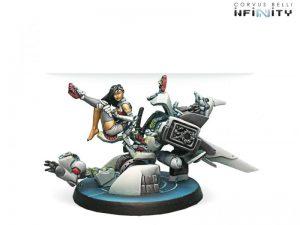 Corvus Belli Infinity  Non-Aligned Armies - NA2 O-Yoroi Pilot Bootleg - 280365-0427 - 2803650004279