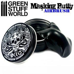 Green Stuff World   Airbrushes & Accessories Airbrush Masking Putty - 8436574502671ES - 8436574502671