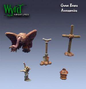 Wyrd   Malifaux Accessories Graveyard Accessories - WYR0006 - 813856010051