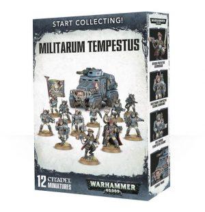 Games Workshop Warhammer 40,000  Start Collecting! Warhammer 40000 Start Collecting! Militarum Tempestus - 99120105069 - 5011921088416